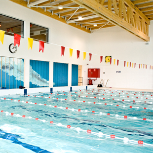 LED Beleuchtung in Sportoase Duinenwater